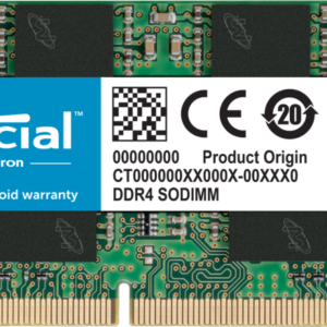 Memoria RAM DDR4 4GB Crucial laptop
