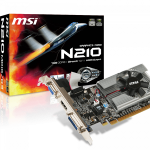 Tarjeta de video 1GB DDR3 MSI